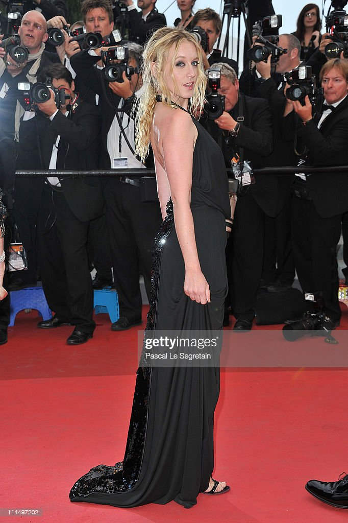 Actress Ludivine Sagnier attends the 'Les BienAimes' premiere at the Palais des Festivals during the 64th Cannes Film Festival on May 22 2011 in...