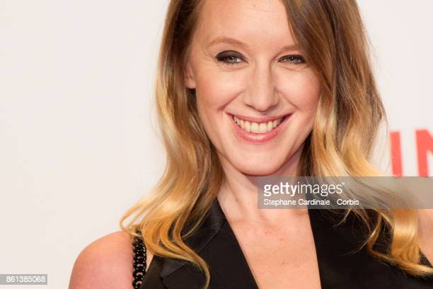 Actress Ludivine Sagnier attends the Opening Ceremony of the 9th Film Festival Lumiere on October 14 2017 in Lyon France