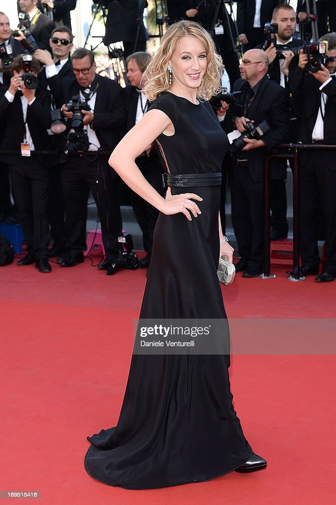 Actress Ludivine Sagnier attends the Premiere of 'Zulu' and the Closing Ceremony of The 66th Annual Cannes Film Festival at Palais des Festivals on May 26, 2013 in Cannes, France.