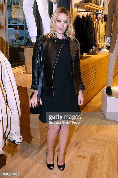 Actress Ludivine Sagnier attends the Tommy Hilfiger Boutique Opening at Boulevard Capucines on March 31 2015 in Paris France