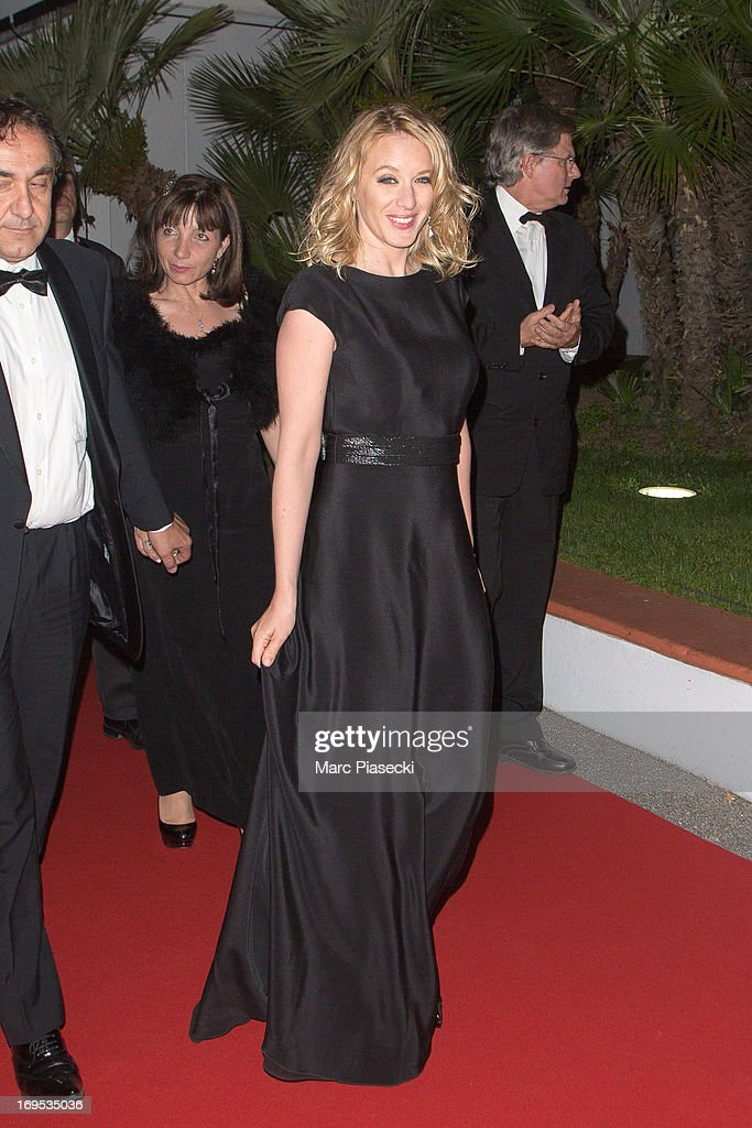 Actress Ludivine Sagnier is seen leaving the 'Palais des Festivals' during the 66th Annual Cannes Film Festival on May 26, 2013 in Cannes, France.