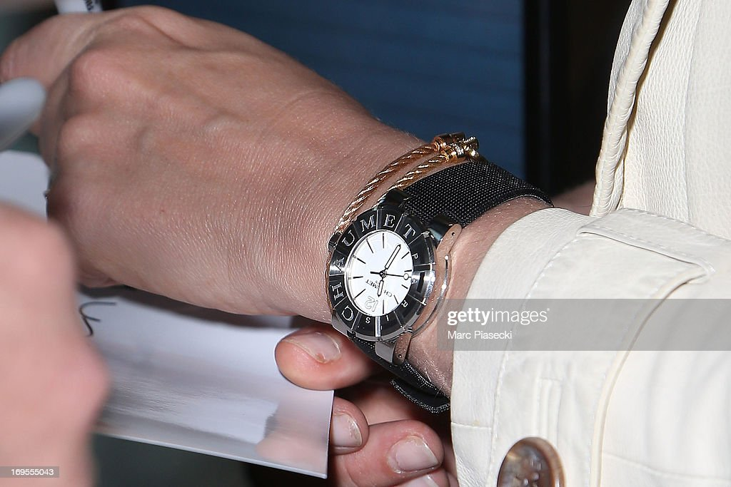 Actress Ludivine Sagnier (watch detail) is sighted at Nice airport after the 66th Annual Cannes Film Festival on May 27, 2013 in Nice, France.