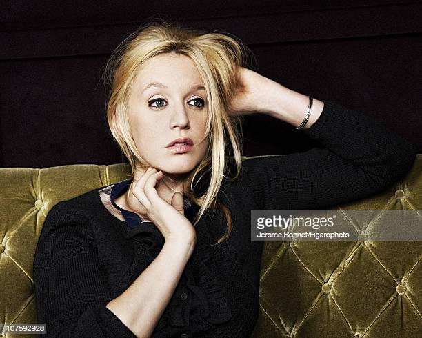 Actress Ludivine Sagnier poses for Madame Figaro on November 16 2010 in Paris France Figaro ID 099479004 CREDIT MUST READ Jerome...