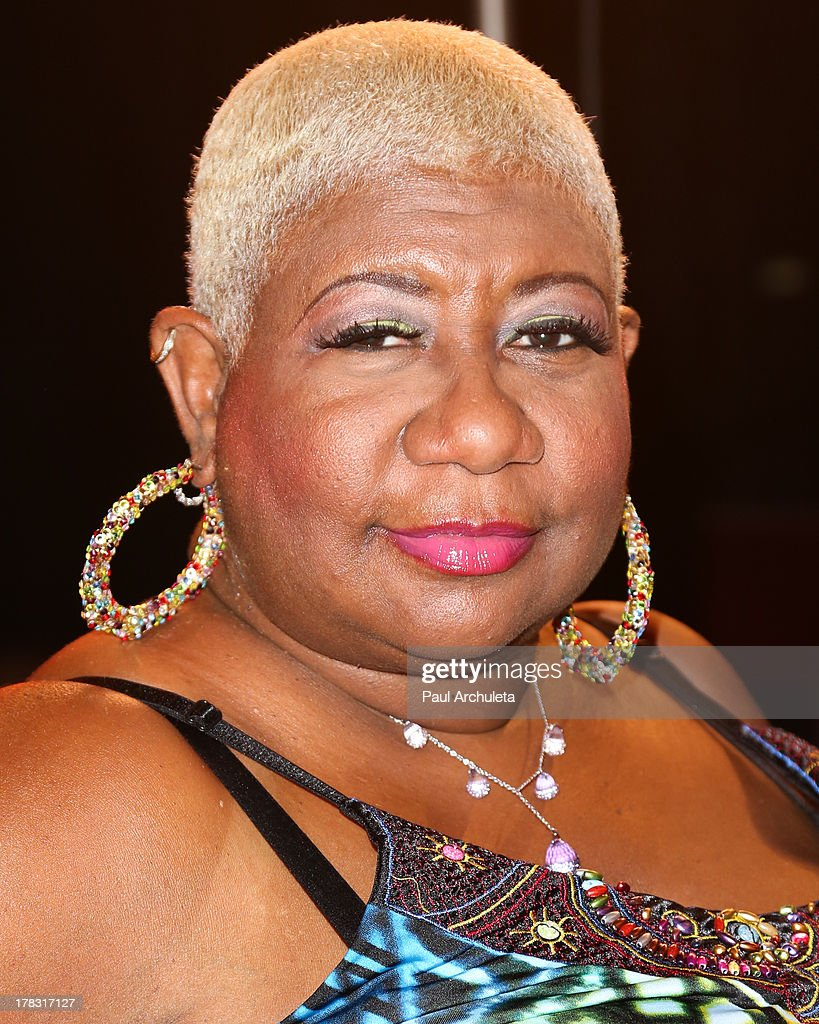 Actress <a gi-track='captionPersonalityLinkClicked' href=/galleries/search?phrase=Luenell&family=editorial&specificpeople=2159262 ng-click='$event.stopPropagation()'>Luenell</a> attends the casting auditions for the new reality show 'Too Fat For Fame' at The Complex Hollywood on August 28, 2013 in Los Angeles, California.