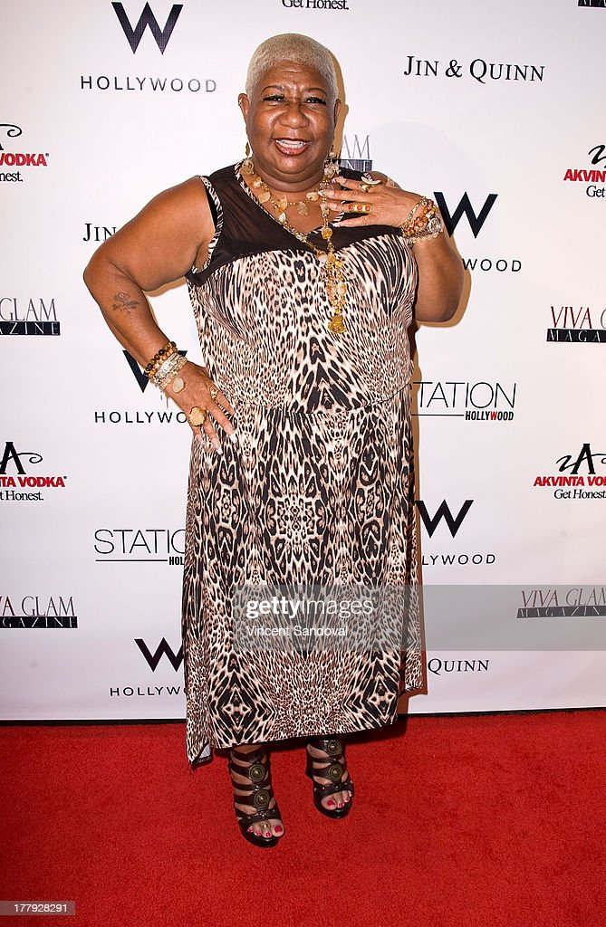 Actress <a gi-track='captionPersonalityLinkClicked' href=/galleries/search?phrase=Luenell&family=editorial&specificpeople=2159262 ng-click='$event.stopPropagation()'>Luenell</a> attends the Viva Glam magazine summer 2013 print issue launch party at W Hollywood on August 25, 2013 in Hollywood, California.