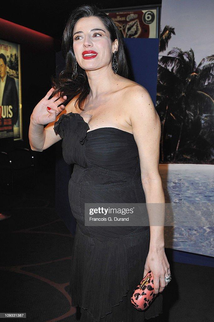 Actress Luisa Ranieri attends 'Le Marquis' Paris premiere on February 21 2011 in Paris France