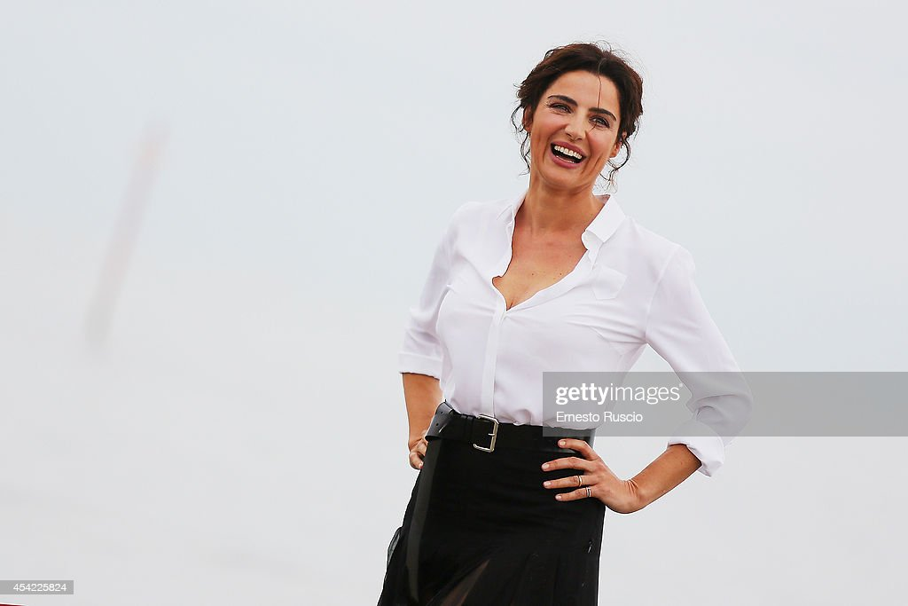 Actress Luisa Ranieri attends the photocall during 71st Venice Film Festival on August 26 2014 in Venice Italy