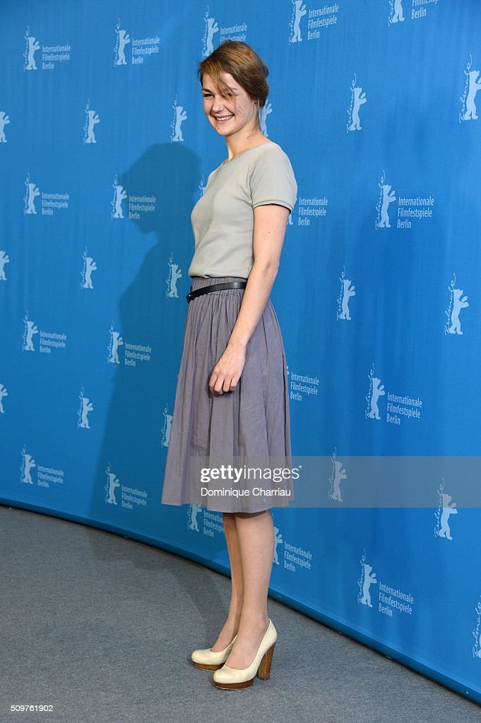 Actress Luise Heyer attends the 'All Of A Sudden' photo call during the 66th Berlinale International Film Festival Berlin at Grand Hyatt Hotel on February 12, 2016 in Berlin, Germany.