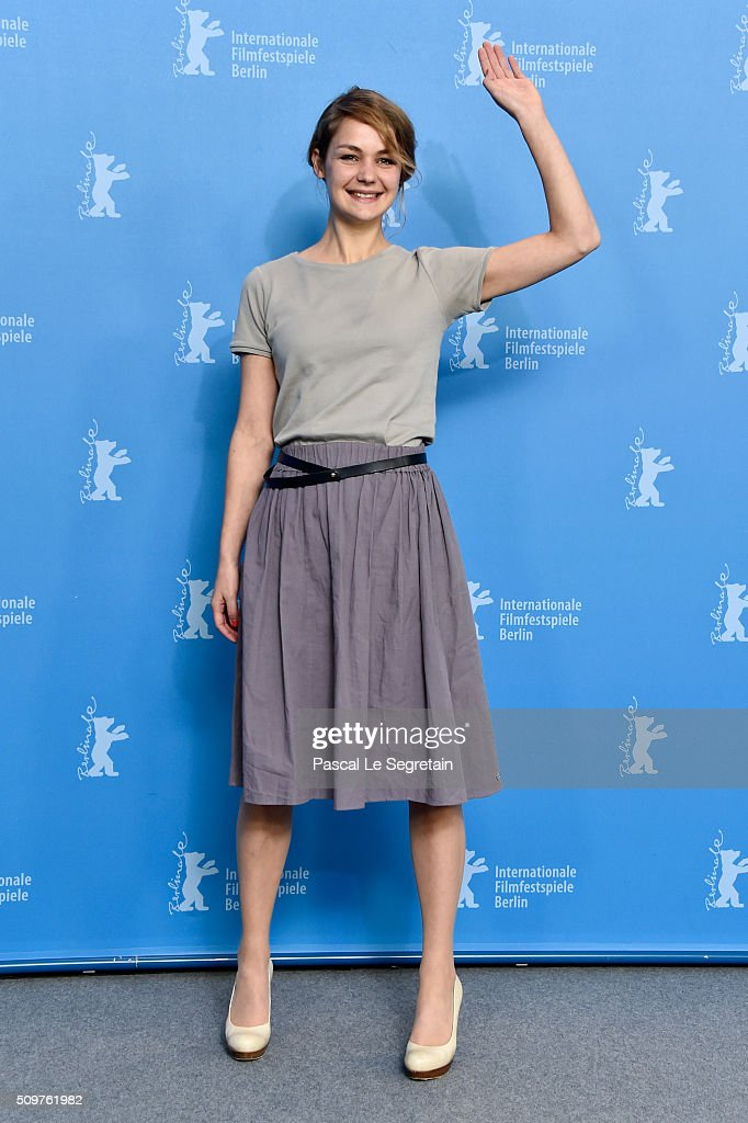 Actress <a gi-track='captionPersonalityLinkClicked' href=/galleries/search?phrase=Luise+Heyer&family=editorial&specificpeople=12459158 ng-click='$event.stopPropagation()'>Luise Heyer</a> attends the 'All Of A Sudden' photo call during the 66th Berlinale International Film Festival Berlin at Grand Hyatt Hotel on February 12, 2016 in Berlin, Germany.