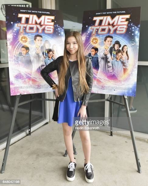 Actress LuLu Lambros attends premiere of 'Time Toys' at Laemmle NoHo 7 on March 4 2017 in North Hollywood California