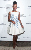 Actress Lupita Nyong'o arrives at the Marie Claire's Fresh Faces Party at Soho House on April 8 2014 in West Hollywood California