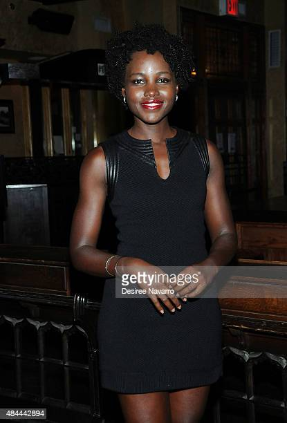 Actress Lupita Nyong'o attends 'Informed Consent' Opening Night After Party at Tir Na Nog on August 18 2015 in New York City