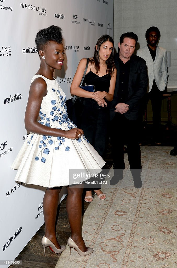 Actress Lupita Nyong'o attends Marie Claire Celebrates May Cover Stars on April 8, 2014 in West Hollywood, California.