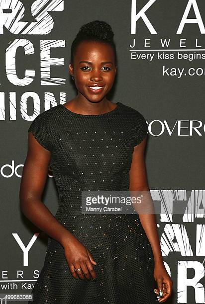 Actress Lupita Nyong'o attends Star Wars 'Force 4 Fashion' launch event at Skylight Modern on December 2 2015 in New York City