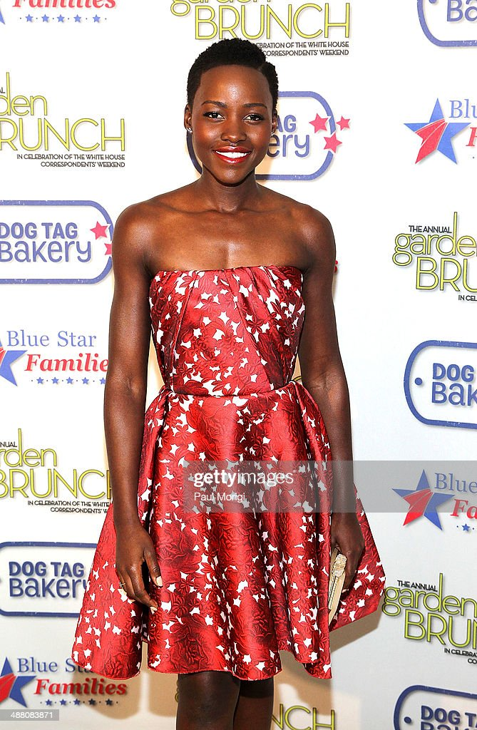 Actress <a gi-track='captionPersonalityLinkClicked' href=/galleries/search?phrase=Lupita+Nyong%27o&family=editorial&specificpeople=10961876 ng-click='$event.stopPropagation()'>Lupita Nyong'o</a> attends the 2014 Annual Garden Brunch at the Beall-Washington House on May 3, 2014 in Washington, DC.