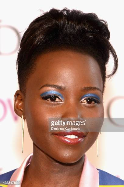 Actress Lupita Nyong'o attends the 2014 CFDA fashion awards at Alice Tully Hall Lincoln Center on June 2 2014 in New York City
