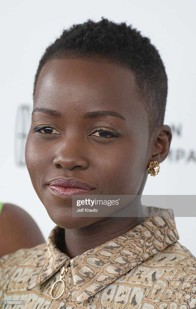 Actress <a gi-track='captionPersonalityLinkClicked' href=/galleries/search?phrase=Lupita+Nyong%27o&family=editorial&specificpeople=10961876 ng-click='$event.stopPropagation()'>Lupita Nyong'o</a> attends the 2014 Film Independent Spirit Awards on March 1, 2014 in Santa Monica, California.