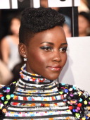 Actress Lupita Nyong'o attends the 2014 MTV Movie Awards at Nokia Theatre LA Live on April 13 2014 in Los Angeles California