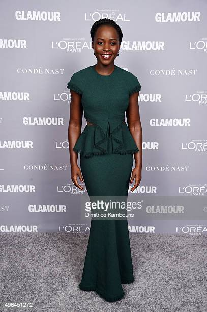 Actress Lupita Nyong'o attends the 2015 Glamour Women Of The Year Awards at Carnegie Hall on November 9 2015 in New York City