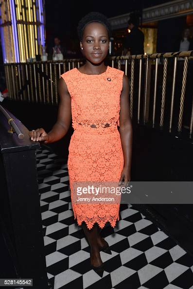 Actress Lupita Nyong'o attends the 2016 Tony Awards Meet The Nominees Press Reception on May 4 2016 in New York City