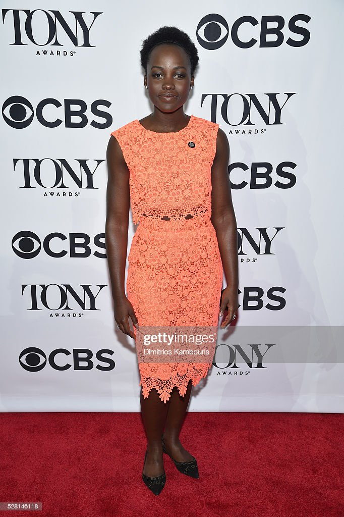 Actress <a gi-track='captionPersonalityLinkClicked' href=/galleries/search?phrase=Lupita+Nyong%27o&family=editorial&specificpeople=10961876 ng-click='$event.stopPropagation()'>Lupita Nyong'o</a> attends the 2016 Tony Awards Meet The Nominees Press Reception on May 4, 2016 in New York City.