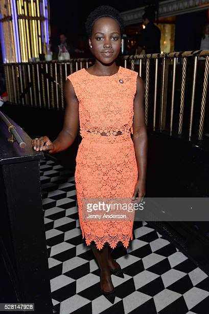 Actress Lupita Nyong'o attends the 2016 Tony Awards Meet The Nominees Press Reception on May 4 2016 in New York City