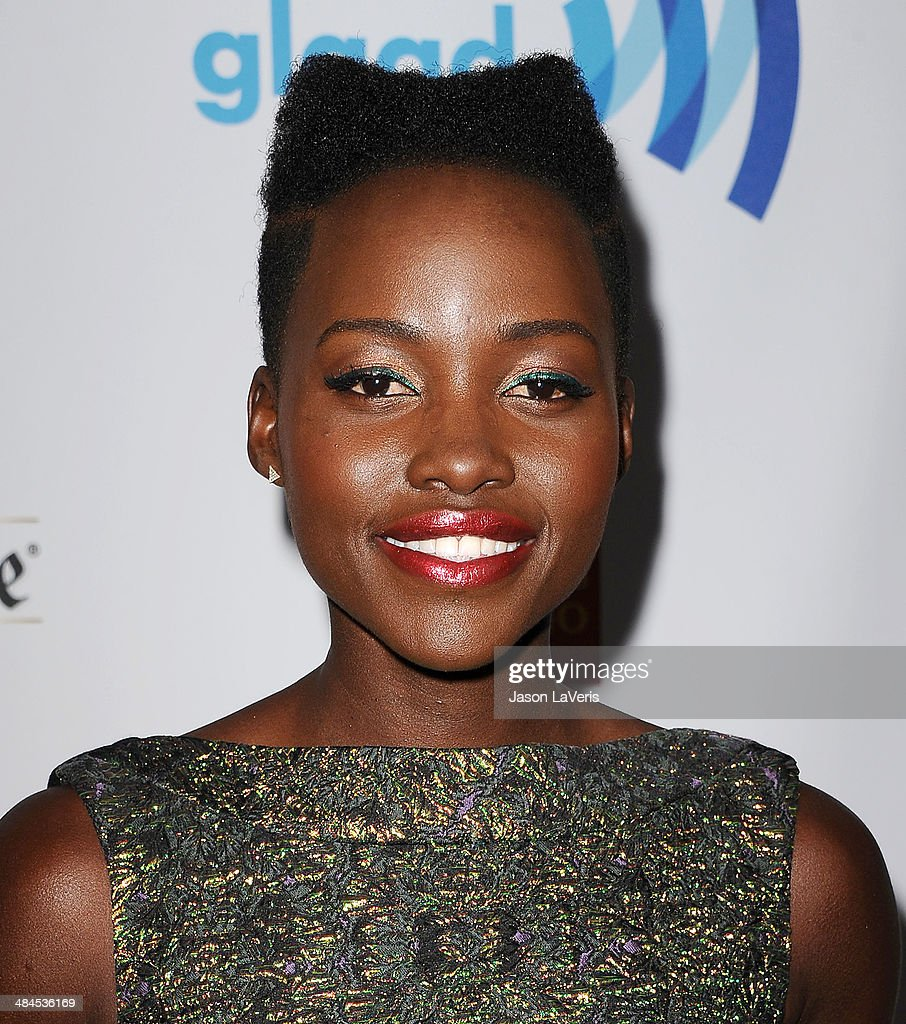 Actress <a gi-track='captionPersonalityLinkClicked' href=/galleries/search?phrase=Lupita+Nyong%27o&family=editorial&specificpeople=10961876 ng-click='$event.stopPropagation()'>Lupita Nyong'o</a> attends the 25th annual GLAAD Media Awards at The Beverly Hilton Hotel on April 12, 2014 in Beverly Hills, California.