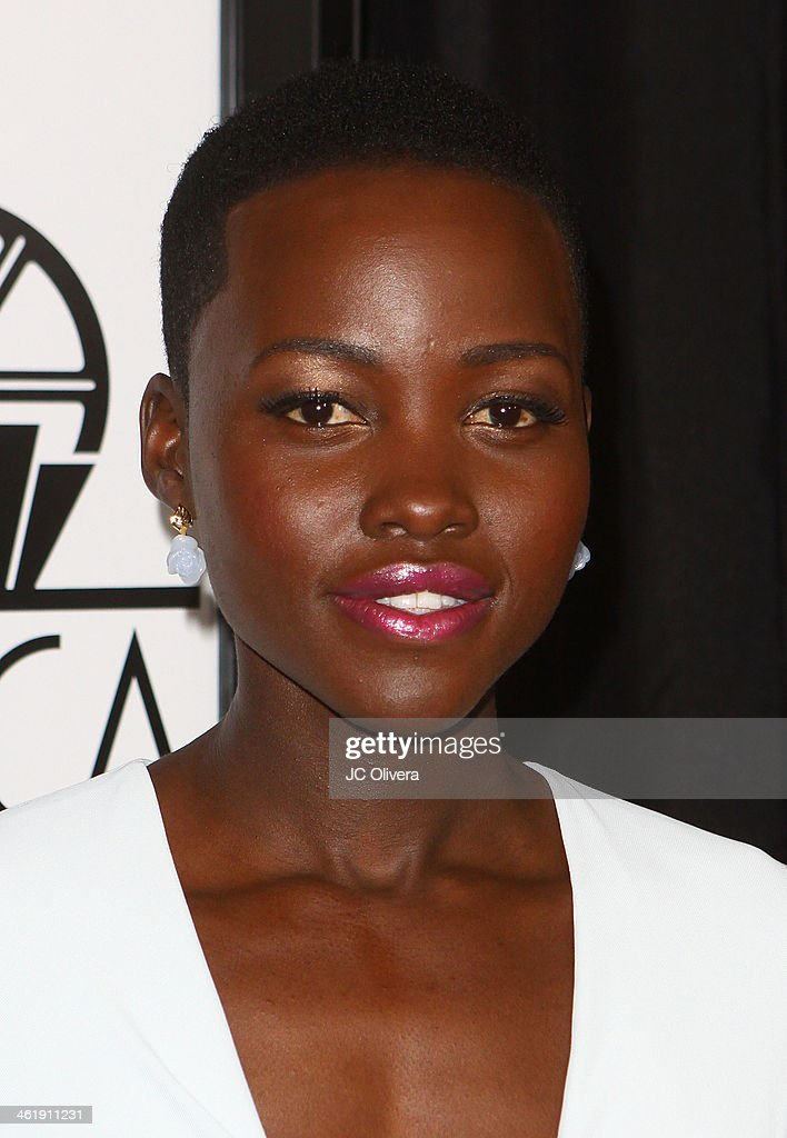 Actress Lupita Nyong'o attends The 39th Annual Los Angeles Film Critics Association Awards at InterContinental Hotel on January 11 2014 in Century...