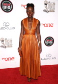 Actress Lupita Nyong'o attends the 45th NAACP Image Awards at Pasadena Civic Auditorium on February 22 2014 in Pasadena California