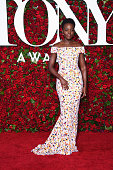 Actress Lupita Nyong'o attends the 70th Annual Tony Awards at The Beacon Theatre on June 12 2016 in New York City
