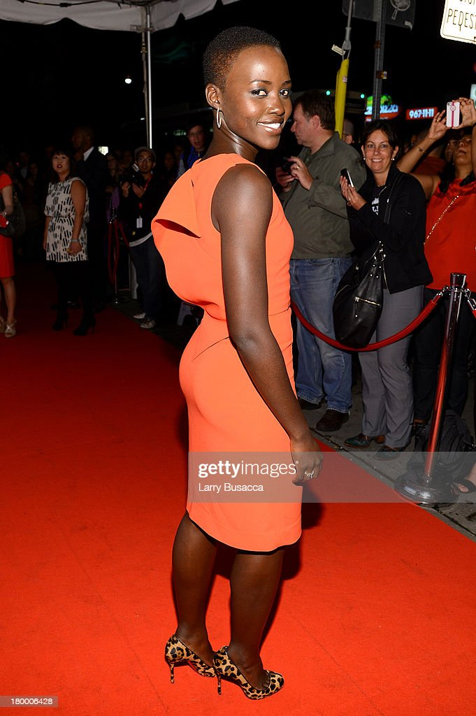 Actress <a gi-track='captionPersonalityLinkClicked' href=/galleries/search?phrase=Lupita+Nyong%27o&family=editorial&specificpeople=10961876 ng-click='$event.stopPropagation()'>Lupita Nyong'o</a> attends the Fox Searchlight TIFF Party during the 2013 Toronto International Film Festival at Spice Route on September 7, 2013 in Toronto, Canada.