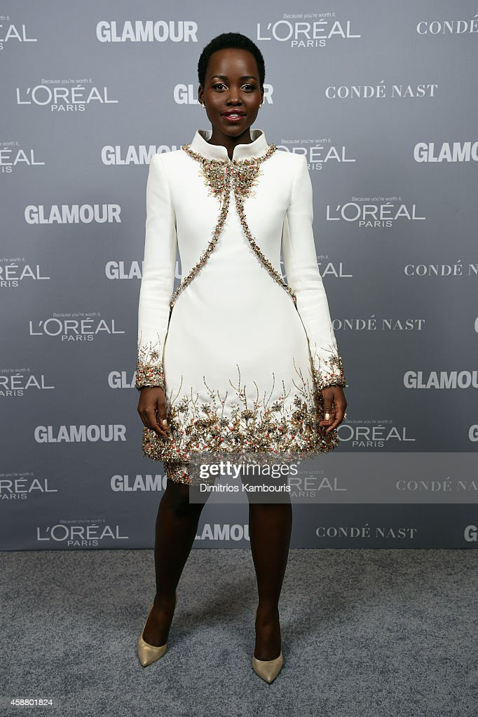 Actress Lupita Nyong'o attends the Glamour 2014 Women Of The Year Awards at Carnegie Hall on November 10 2014 in New York City
