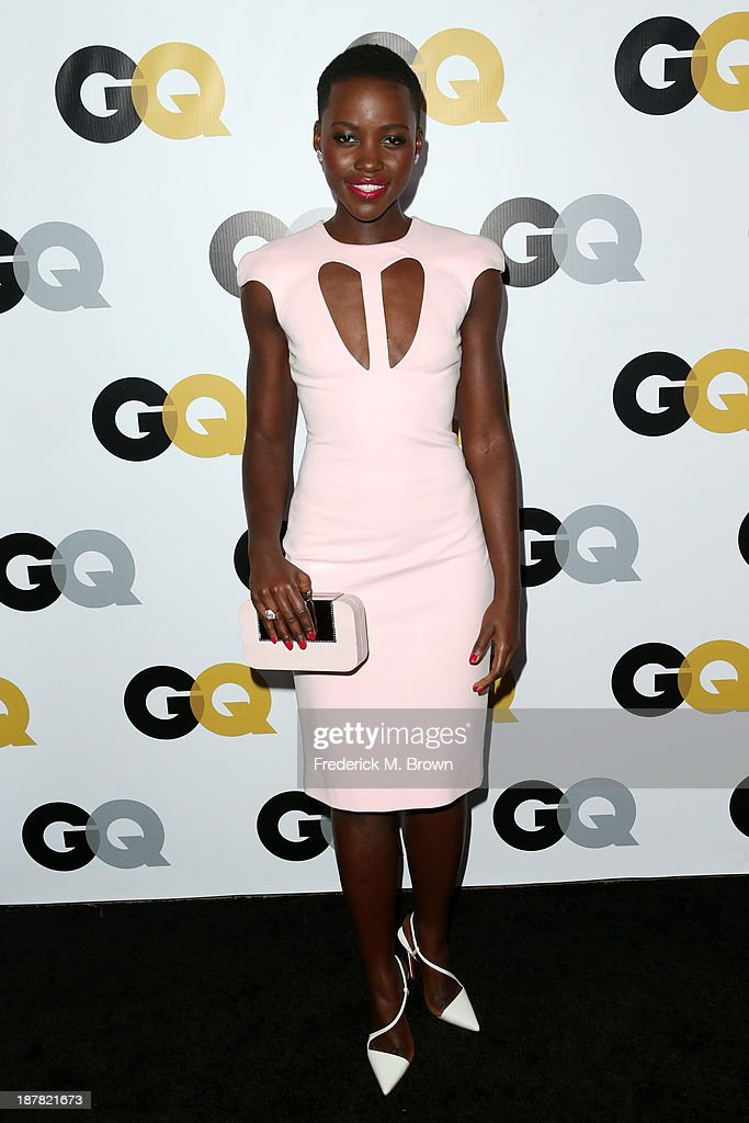 Actress <a gi-track='captionPersonalityLinkClicked' href=/galleries/search?phrase=Lupita+Nyong%27o&family=editorial&specificpeople=10961876 ng-click='$event.stopPropagation()'>Lupita Nyong'o</a> attends the GQ Men Of The Year Party at The Ebell Club of Los Angeles on November 12, 2013 in Los Angeles, California.