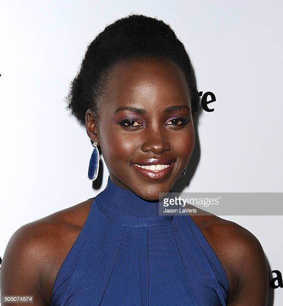 Actress Lupita Nyong'o attends the Marie Claire Image Maker Awards 2016 at Chateau Marmont on January 12 2016 in Los Angeles California
