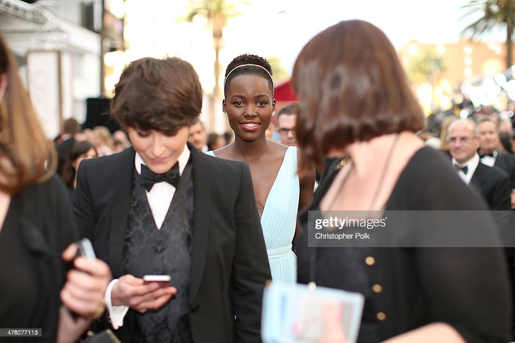 Actress Lupita Nyong'o attends the Oscars at Hollywood & Highland Center on March 2, 2014 in Hollywood, California.