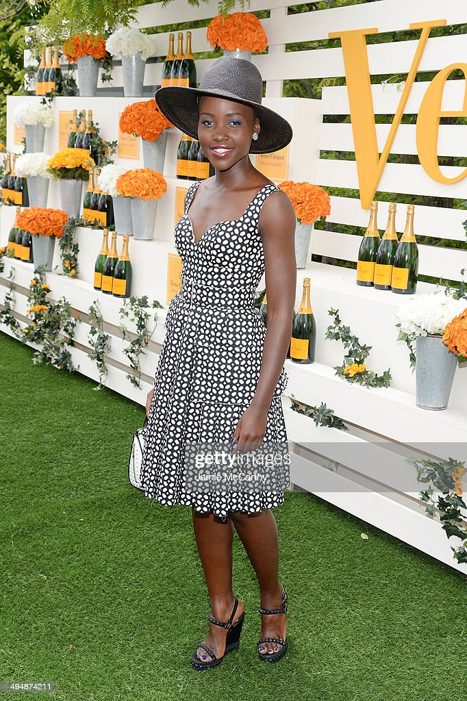 Actress <a gi-track='captionPersonalityLinkClicked' href=/galleries/search?phrase=Lupita+Nyong%27o&family=editorial&specificpeople=10961876 ng-click='$event.stopPropagation()'>Lupita Nyong'o</a> attends the seventh annual Veuve Clicquot Polo Classic in Liberty State Park on May 31, 2014 in Jersey City City.