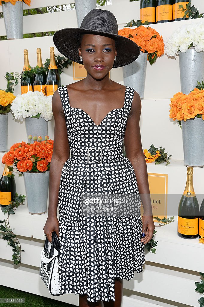 Actress Lupita Nyong'o attends the seventh annual Veuve Clicquot Polo Classic in Liberty State Park on May 31, 2014 in Jersey City City.