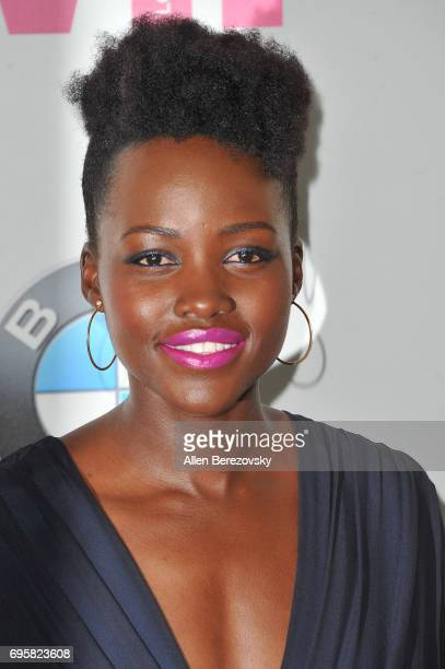 Actress Lupita Nyong'o attends Women In Film 2017 Crystal Lucy Awards Presented By Max Mara And BMW at The Beverly Hilton Hotel on June 13 2017 in...