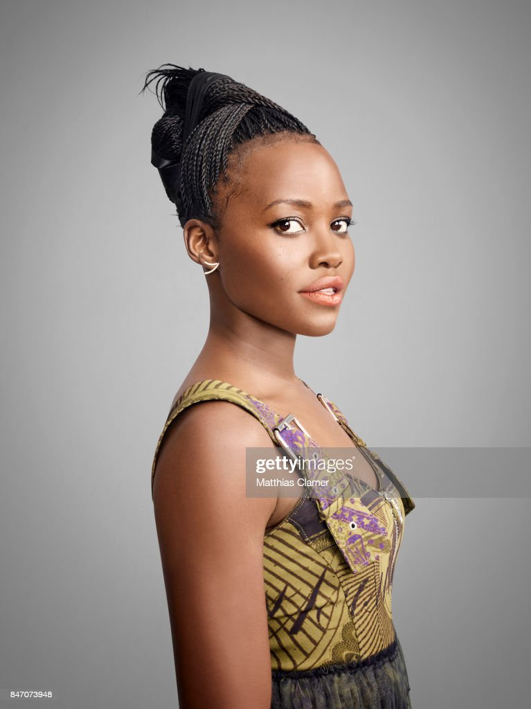 Actress Lupita Nyong'o from 'Black Panther' is photographed for Entertainment Weekly Magazine on July 23, 2016 at Comic Con in the Hard Rock Hotel in San Diego, California.