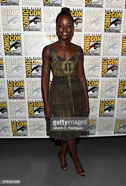 "Actress Lupita Nyong'o from Marvel Studios' 'Black Panther"" attends the San Diego ComicCon International 2016 Marvel Panel in Hall H on July 23 2016..."