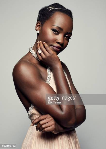 Actress Lupita Nyong'o is photographed at the 76th Annual Peabody Awards at Cipriani Wall Street on May 20 2017 in New York City