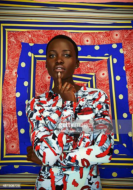 Actress Lupita Nyong'o is photographed for Back Stage on January 22 in New York City