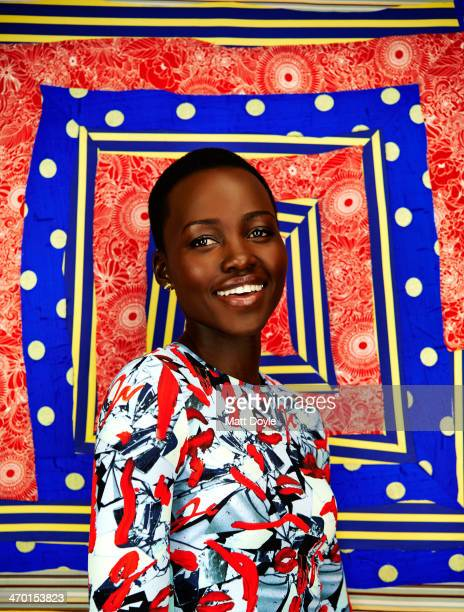 Actress Lupita Nyong'o is photographed for Backstage on January 22 in New York City
