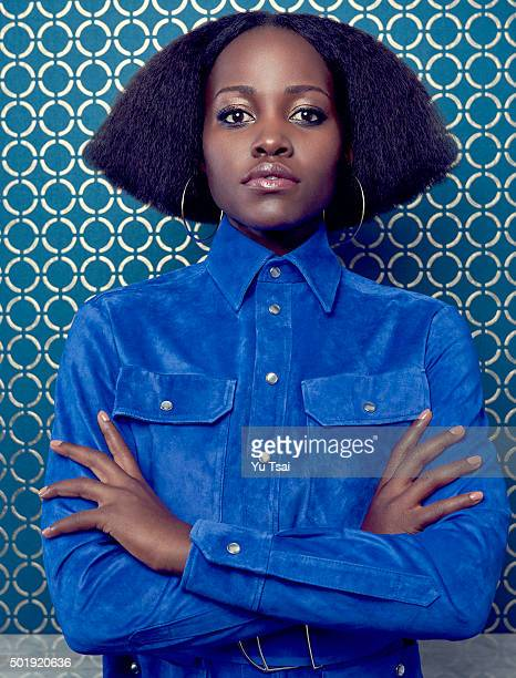 Actress Lupita Nyong'o is photographed for Rhapsody Magazine on October 5 2015 in New York City ON DOMESTIC EMBARGO UNTIL MARCH 1 2016 ON...