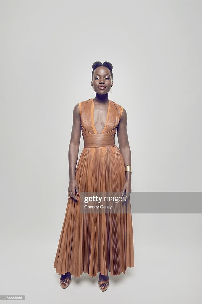 Actress Lupita Nyong'o is photographed for Self Assignment on February 22, 2014 in Los Angeles, California.