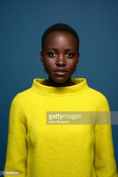 Actress Lupita Nyong'o of '12 Years A Slave' poses at the Guess Portrait Studio during 2013 Toronto International Film Festival on September 7 2013...