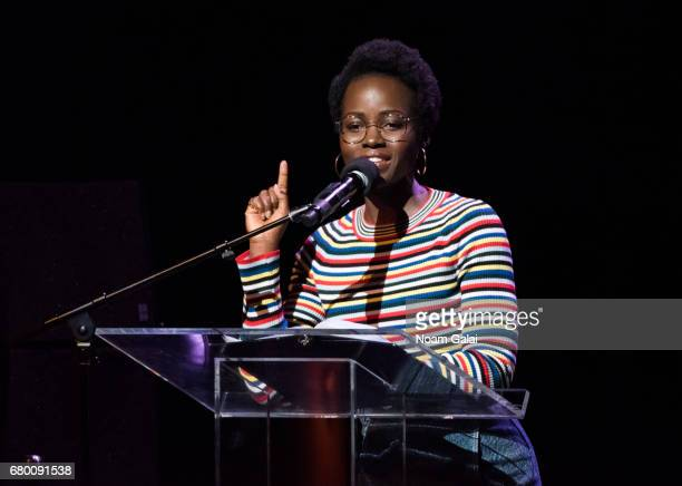 Actress Lupita Nyong'o speaks onstage during the 2017 Women of the World Festival at The Apollo Theater on May 7 2017 in New York City