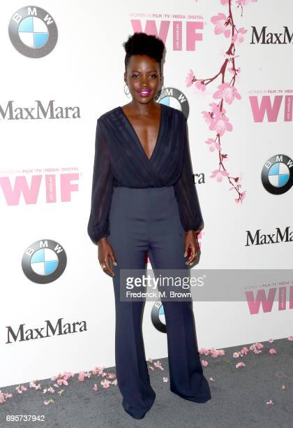 Actress Lupita Nyong'o wearing Max Mara attends the Women In Film 2017 Crystal Lucy Awards presented By Max Mara and BMW at The Beverly Hilton Hotel...