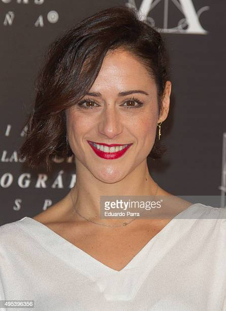 Actress Luz Valdenebro attends the Golden Medal 2015 ceremony at Academia de Cine on November 2 2015 in Madrid Spain