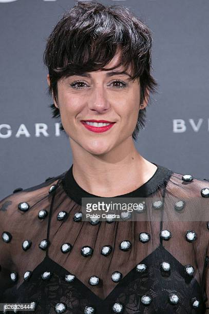 Actress Luz Valdenebro attends the opening of the exhibition 'Bulgari and Roma' at Italian Embassy on November 28 2016 in Madrid Spain